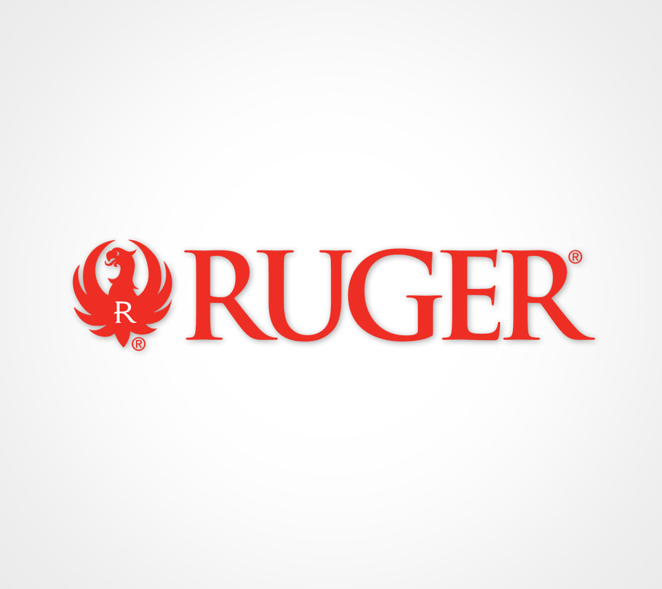 Ruger Logo on White