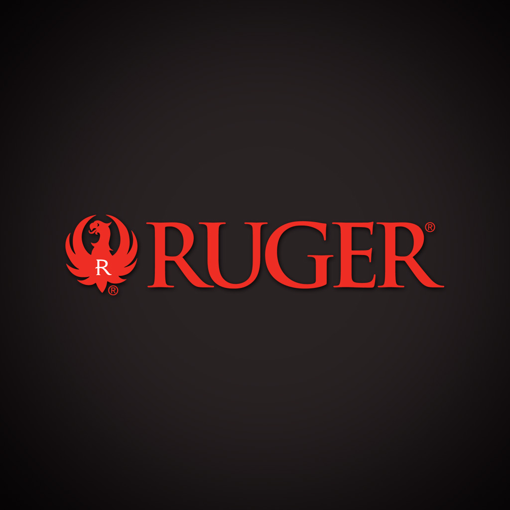 Ruger Logo on Black